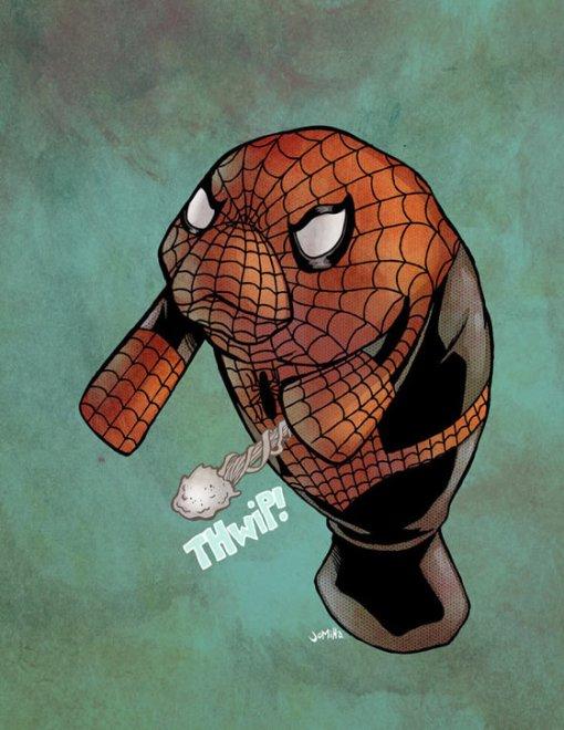 spidermanatee