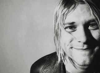 Kurt Cobain Smiling
