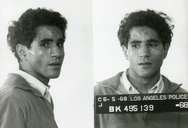 Sirhan Sirhan arrested