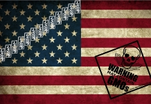 monsanto politics american flag