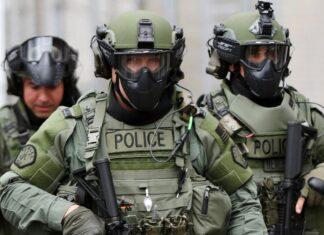 militarized police